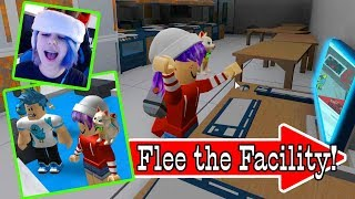 HACK FOR ROBUX IN ROBLOX FLEE THE FACILITY | RADIOJH GAMES & GAMER CHAD