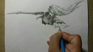 Pencil drawing : Project Katarina