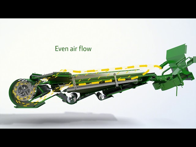 John Deere | T, W Series:  Cleaning (No Audio)