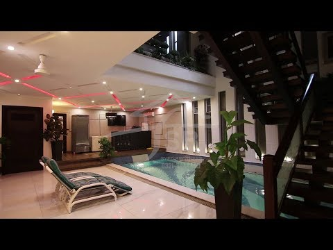 1 kanal Luxury Modern House with Swimming Pool in phase 5 DHA LAHORE