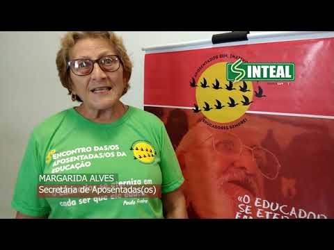 Sinteal mobiliza aposentados(as): 14% de desconto NÃO!