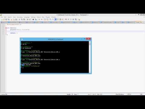 Cara Compile C++ Di Notepad++