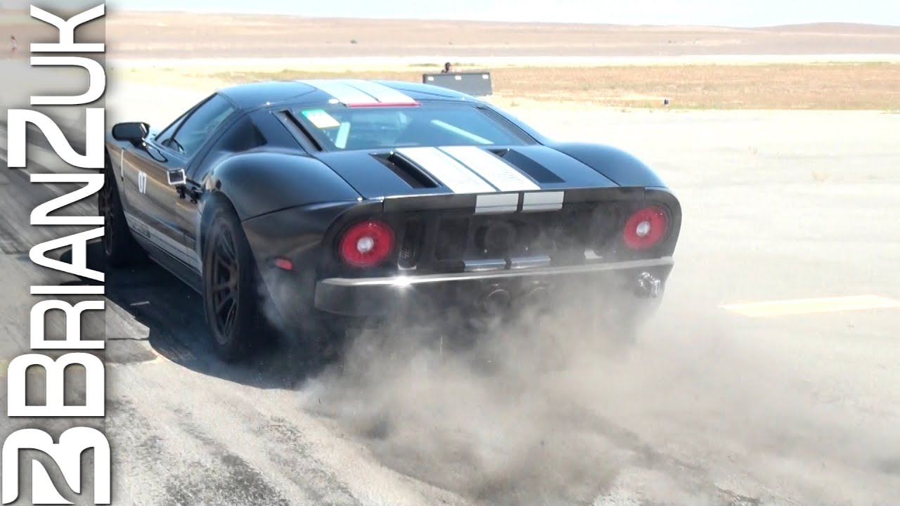 Twin Turbo Ford Gt Burnout