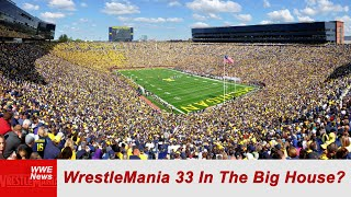 WrestleMania 33 In The Big House?
