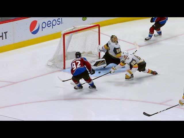 Fleury's spectacular pad stop