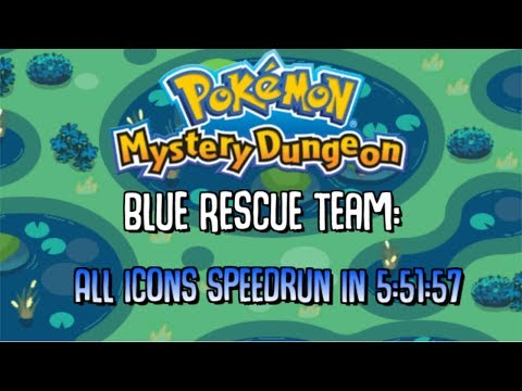 200 Subscriber Special - PMD: Blue Rescue Team All Icons in 5:51 [Former WR]
