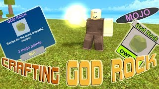 Roblox Booga Booga - How To Make GOD ROCK