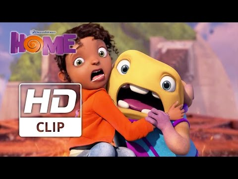 Dreamworks HOME | 'She's Bluffing' | Official HD Clip 2015