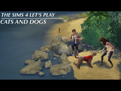 LET'S PLAY THE SIMS 4 CATS AND DOGS // s1e7 - spock and screenshots