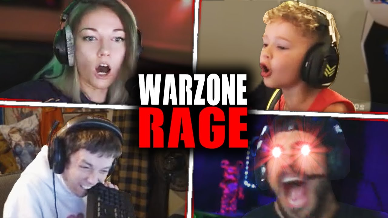 Extreme Warzone RAGE Moments