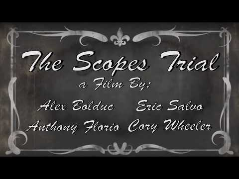 The Scopes Trial | Silent Film Project | Mr. Osgood