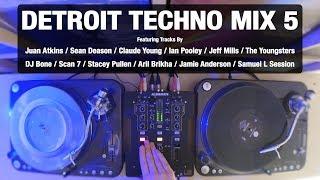 detroit techno mix 5 with tracklist vinyl mix