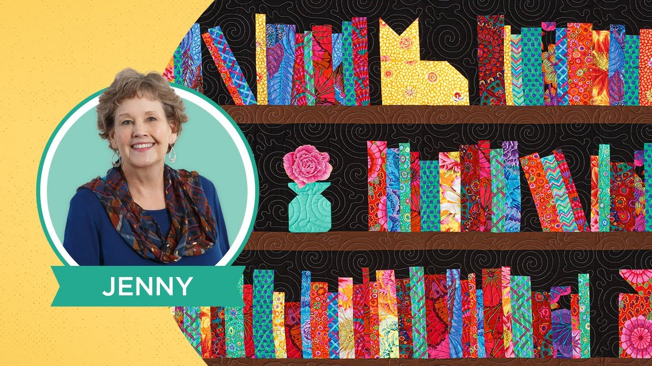 """Make a """"Book Review"""" Quilt with Jenny Doan of Missouri Star Quilt Co (Video Tutorial)"""