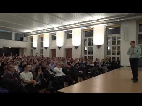Speech Andreas M. Antonopoulos at Glockenhof in Zurich - October 2016