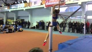 Юлия Левченко 1.86 (Зимний Кубок Украины в помещении)