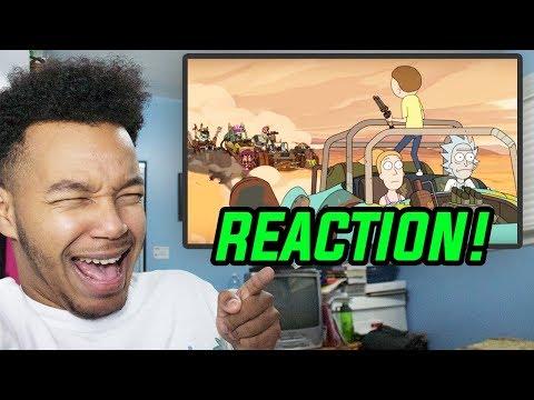 "Rick and Morty Season 3 Episode 2 ""Rickmancing the Stone"" REACTION!"