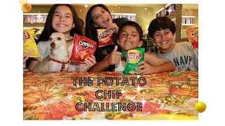 THE POTATO CHIP CHALLENGE! || LEXPEX1121