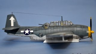 TBF 1 Avenger Torpedo Run  Dio Build Part 1