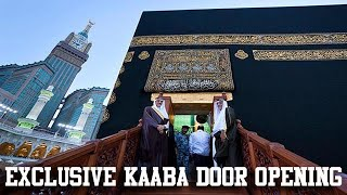 door of kaaba opening 2012 {full HD}