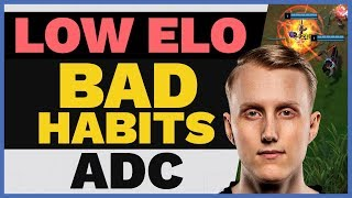 LOW ELO Bad Habits: PUNISH Last Hits Like TSM Zven!