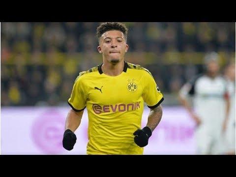 Man Utd lead £100m Jadon Sancho chase but Man City make Borussia Dortmund request- transfer news ...