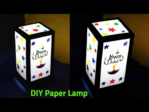 DIY Paper Lamp | Diwali Home Decoration Idea 2019