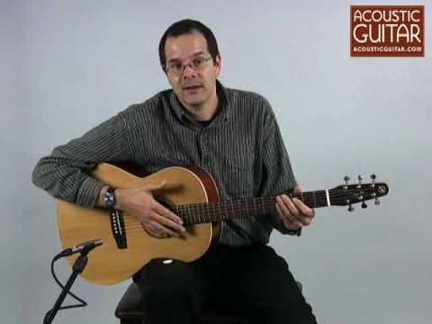 Acoustic Guitar Review - Seagull Coastline Folk Cedar
