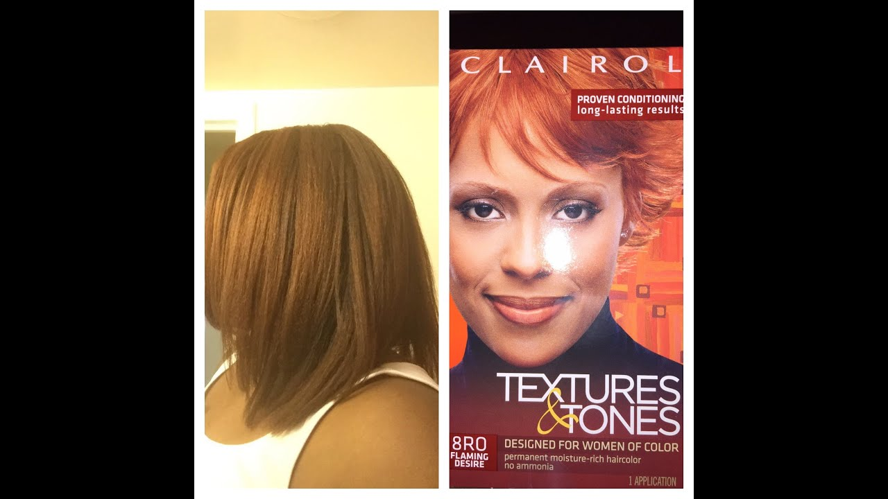 Clairol Textures And Tones Hair Color System Review And