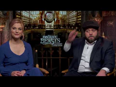 Fantastic Beasts and Where To Find Them Interview - Alison Sudol & Dan Fogler