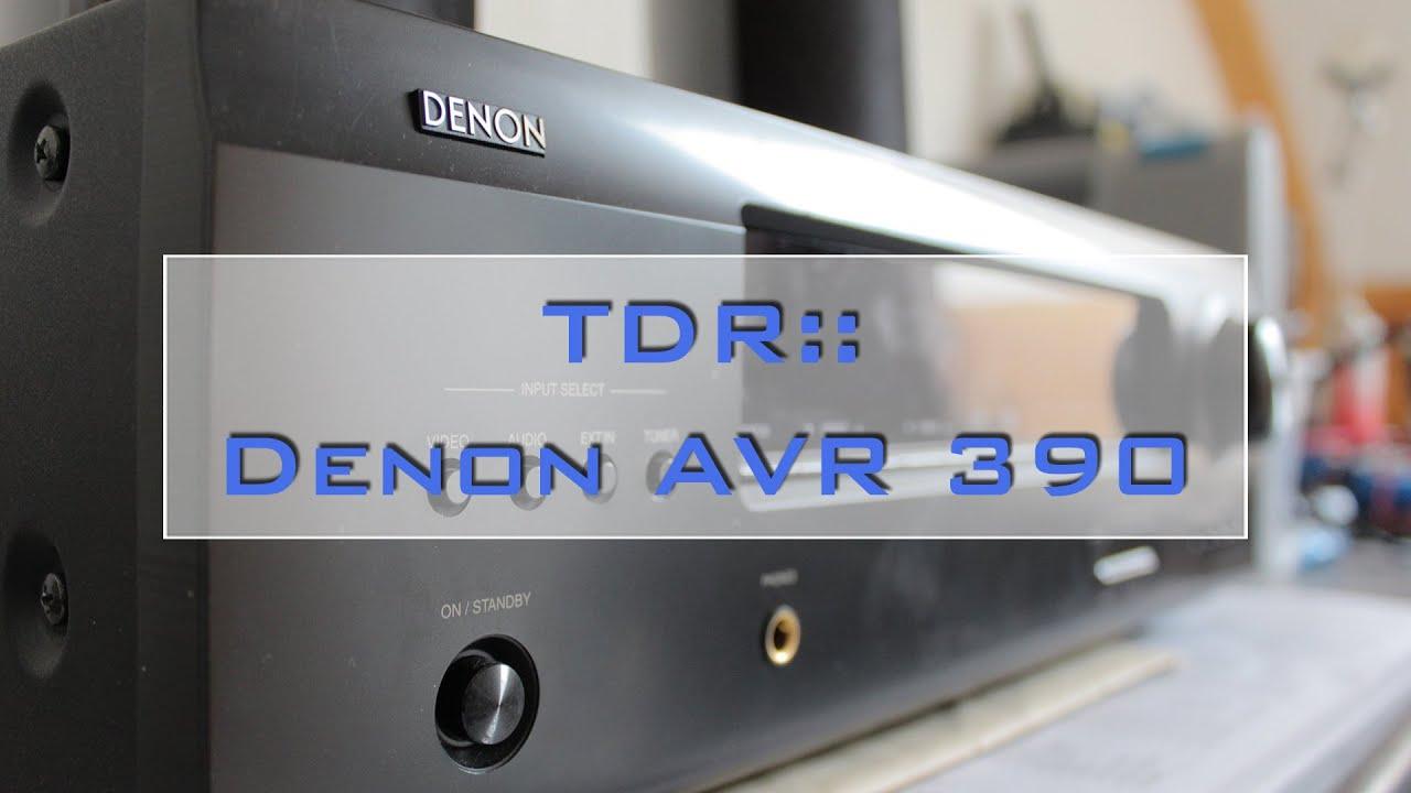 TDR:: Denon AVR 390 5.1 Receiver Reparatur [ger] - YouTube