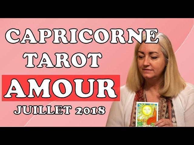 TAROT AMOUR CAPRICORNE 💕 COUPLE ET CÉLIBATAIRE 💕 ÉTÉ 2018