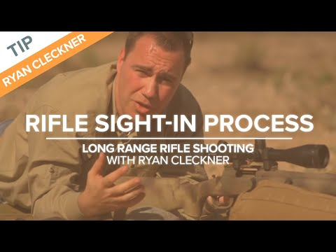 Rifle Sight-in Process - Long Range Shooting Technique