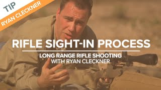 Rifle Sight-in Process | Long-Range Rifle Shooting with Ryan Cleckner