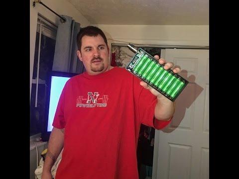 10-18650 [ Parallel Jax Box Mod ] Review [ 26,000 Mah ]