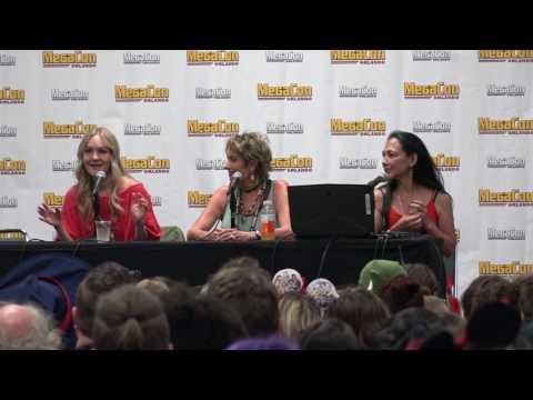 The Disney Princesses Panel at Megacon 2017