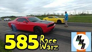 Street Racing at the 585 Race Warz (Brockport, NY)