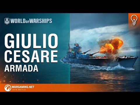 World of Warships - Armada: Guilio Cesare
