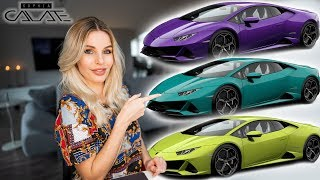 So würde ich meinen Lamborghini Huracan Evo konfigurieren!