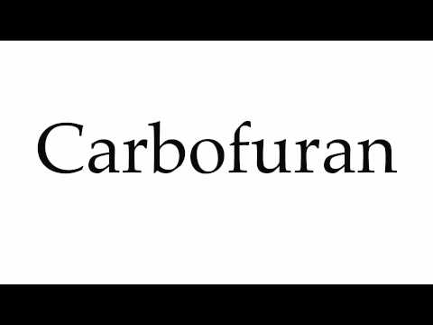 How to Pronounce Carbofuran