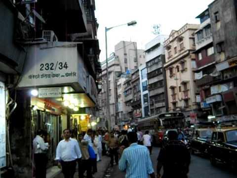 Famous Kalbadevi Road In Mumbai Youtube