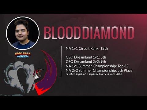 Blood Diamond vs Viewers - July 31, 2017 Brawlhalla Esports Stream