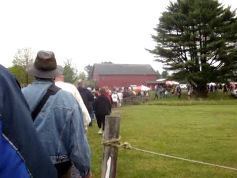Scarlett Scales Antiques at Brimfield, Mass antique show - J&J opens!
