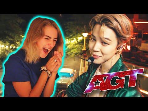 DYNAMITE live on AGT ✰ BTS REACTION