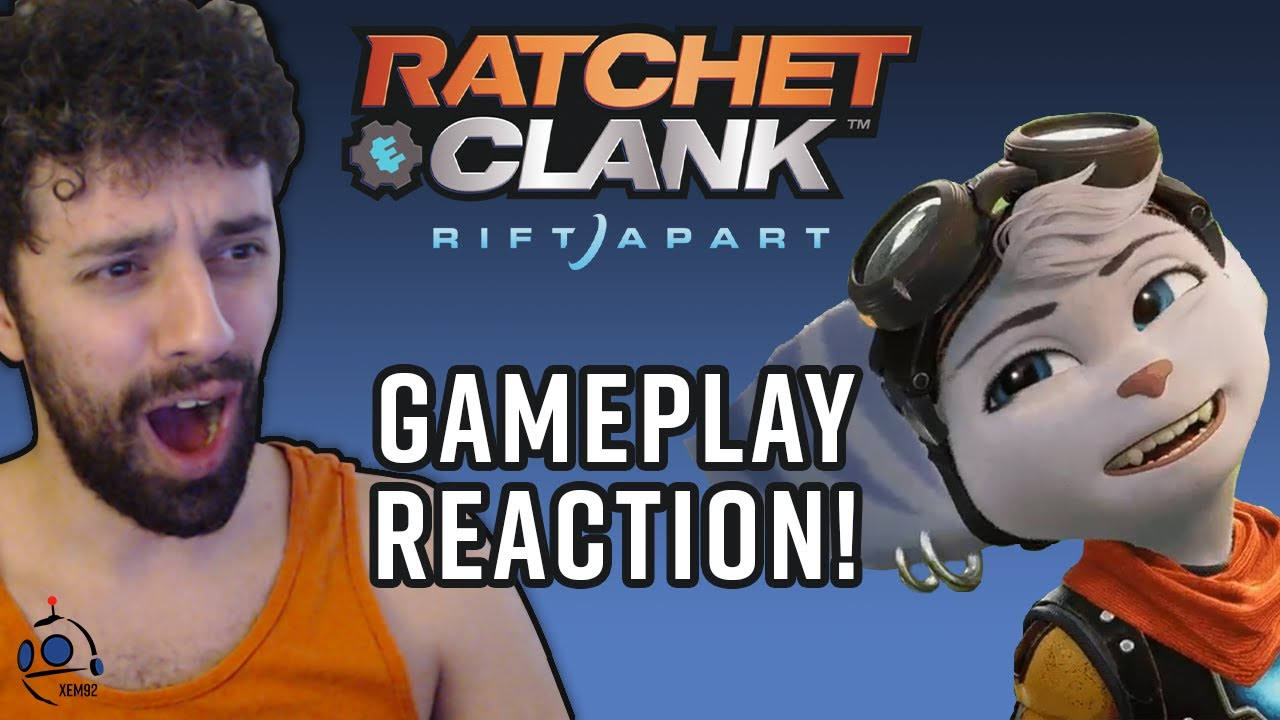 Download My Rift Apart Gameplay Trailer Reaction!