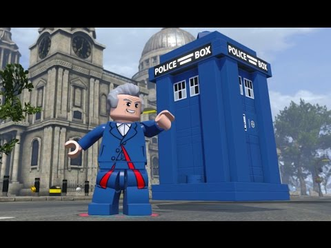 LEGO Dimensions - The Doctor Open World Free Roam (Character Showcase)