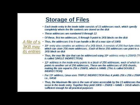 The LINUX File System, Boot Block, Super Block, Inode Table  - UNIX/LINUX Tutorials for beginners
