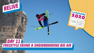 RELIVE - Freestyle Skiing & Snowboarding - Day 11 | Lausanne 2020