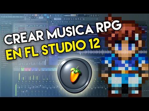 como hacer música para un juego rpg con fl studio 12
