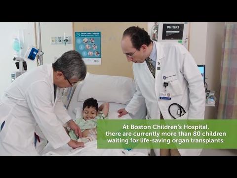 #becauseofadonor - Pediatric Transplant Center | Boston Children's Hospital