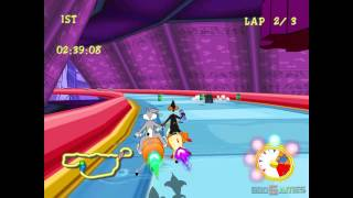 Looney Tunes Space Race - Gameplay Dreamcast HD 720P